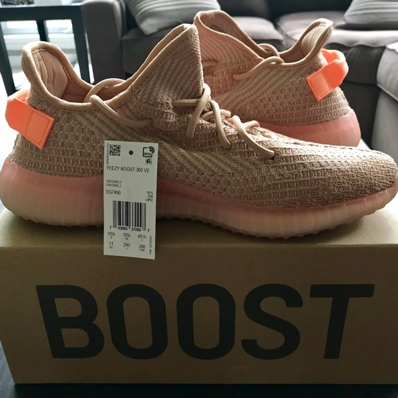 Adidas YEEZY BOOST 350 V2 Clay, Men's Size 11 NWT